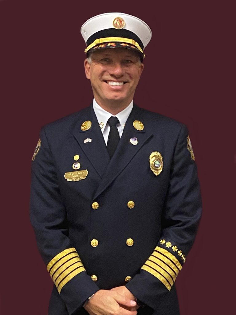 """<span class=""""entry-title-primary"""">Fire Chief Gregory L. DeWitt</span> <span class=""""entry-subtitle"""">Bonita Springs Fire Control and Rescue District</span>"""