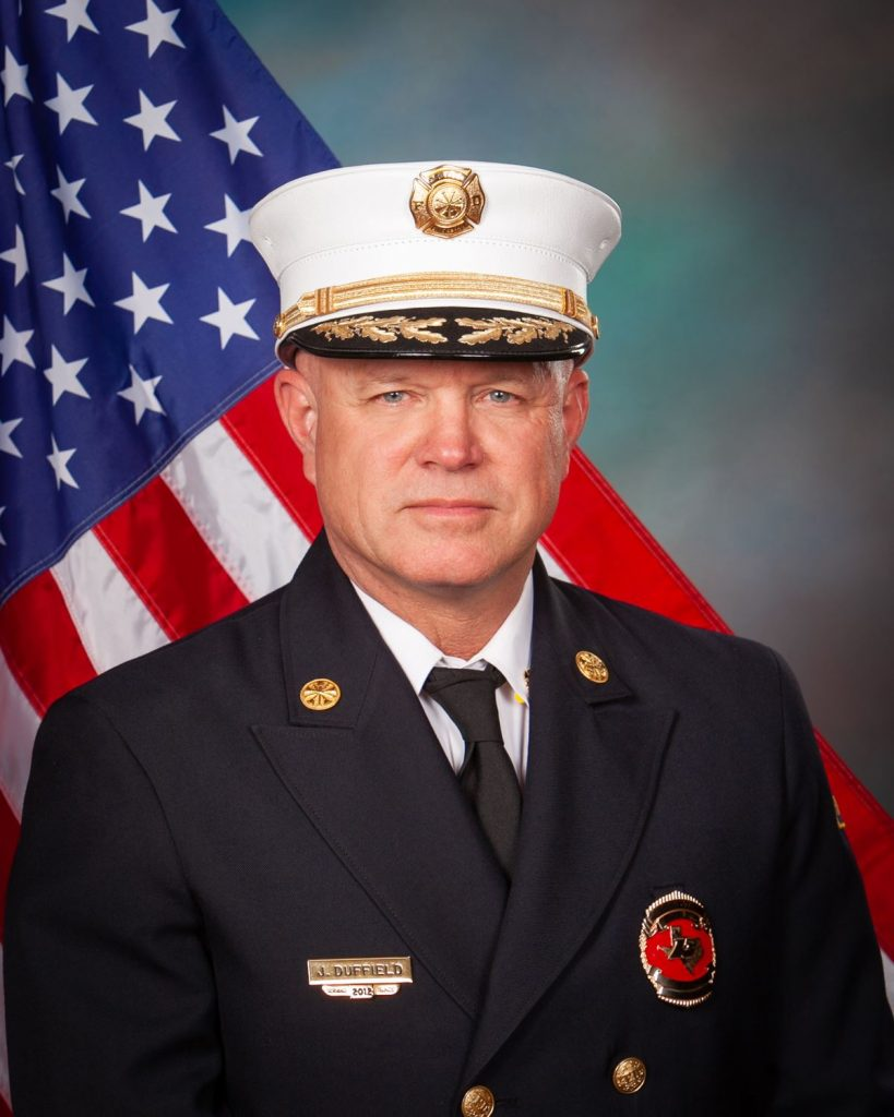 """<span class=""""entry-title-primary"""">Fire Chief Jerry Duffield</span> <span class=""""entry-subtitle"""">DeSoto Fire Rescue, DeSoto Texas</span>"""