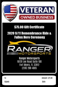 """<span class=""""entry-title-primary"""">Thank You Bill Sexton of Ranger Motorsports</span> <span class=""""entry-subtitle"""">$75 Gift Certificate</span>"""