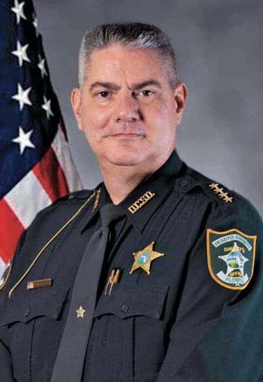 """<span class=""""entry-title-primary"""">Sheriff James F. Potter</span> <span class=""""entry-subtitle"""">DeSoto County Sheriff"""