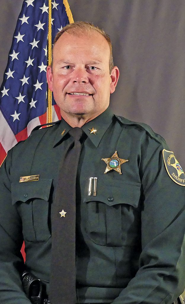 """<span class=""""entry-title-primary"""">Sheriff Paul Blackman</span> <span class=""""entry-subtitle"""">Highlands County Sheriff"""