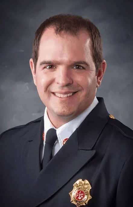 """<span class=""""entry-title-primary"""">Michael T. Russell, Fire Deputy Chief</span> <span class=""""entry-subtitle"""">Cape Coral Fire Department</span>"""