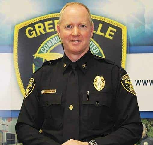 """<span class=""""entry-title-primary"""">Police Chief Mark Holtzman</span> <span class=""""entry-subtitle"""">Greenville Police Department</span>"""