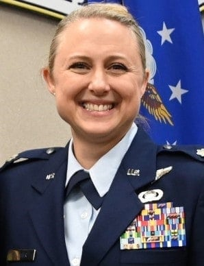 """<span class=""""entry-title-primary"""">Lt. Col. Shelli Huether</span> <span class=""""entry-subtitle"""">[Tennessee]</span>"""